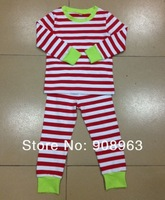 kids sleepwear long sleeved kids pajama, toddler boy pajamas sets Spring Striped Kids Pajamas