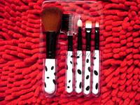 5 Pcs brush set Professional Make up Brush set Cosmetic Brushes Spots color wood handle wholesales lowest price
