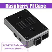 Black raspberry pi case Raspberry PI shell fins Sparkfun original U.S. imports