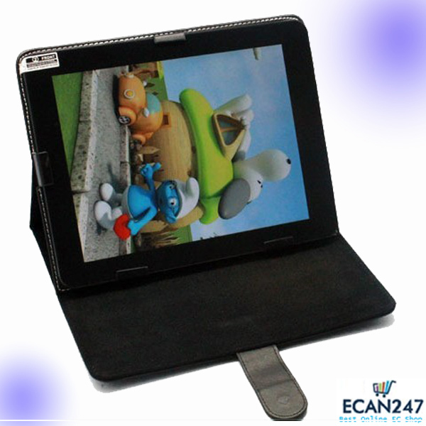 """Free shipping universal 8"""" 8 inch Android Tablet Leather Flip Case Cover ,Universal Tablet Leather Case(China (Mainland))"""