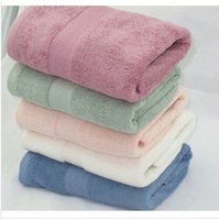 A5 color 100% bamboo fiber towels green health products 7 * 140 cm 550g thick