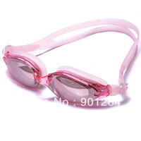 Brand name leader double strap swimming goggles