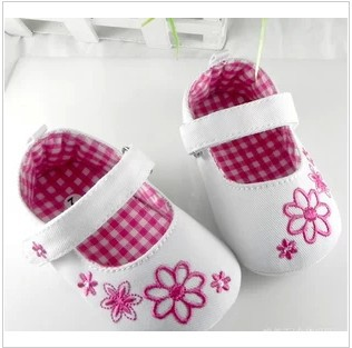 2014 white casual girl toddler shoes free shipping(China (Mainland))