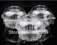 NEW ARRIVAL Circular transparent cake boxes,plastic cupcake box, kitchen accessories