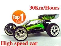 Free shipping  WL 2307 High speed Mini Rc car ( 20-30km/hour) Super car / Amazing Remote Controll Car / Radio Car