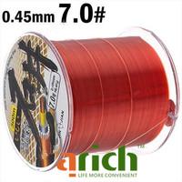 7.0# 300m Long 0.45mm Diameter 16.4kg Abrasion Resistant Fishing Line Spool Fishing Rope