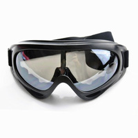 UV Protection Super Sports Ski Snowboard Skate Goggles Glasses Motorcycle Off-Road Ski Goggle Glasses Eyewear Black Lens