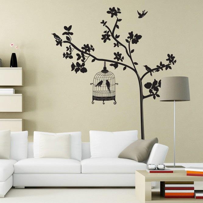 Heart Tree Kitchen Lounge Bedroom Wall Art