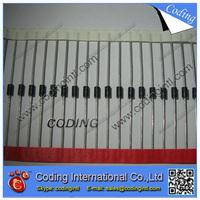 100PCS/lot Diodes VISHAY  P4KE6.8CA DO-41 Transient Voltage Suppressors P4KE6.8A P4KE6.8