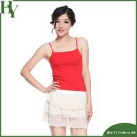 T-128 Wholesale Women Tops Base Shirt Korean Summer New Candy Color Camis Top Camisole Plus Size