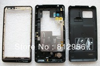 Original and new full Housing case(front frame+middle bezel+back battery cover) for Motorola Droid Bionic XT875,free Shipping