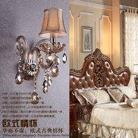 Swarovski crystal fashion brief modern wall lamp wall lamp mirror bed-lighting