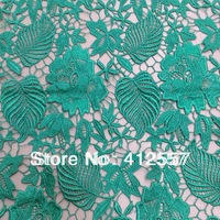 "HIGH QUALITY! Fashion design lace fabric embroidered guipure lace for women apparel 47"" width"