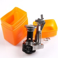 Mini Useful Compact Gas-Powered Butane Propane Gas-powered Stove Tools Outdoor Camping Picnic Fishing Free Shipping 670549