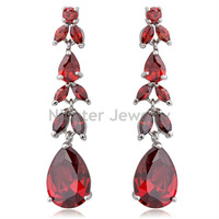 2014 New Arrival Water Drop Earrings Made With Swarovski Crystal For women Weddings Jewelry  CEC_000106