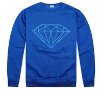 Autumn and winter hip-hop hiphop sweatshirt diamond supply co diamonds o-neck outerwear casual pullover men's clothing
