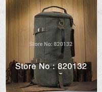 High Quality Canvas Men Travel Bag Backpack Large Capacity Shoulder Bag Leisure Causal Handbag,Free Drop Shipping