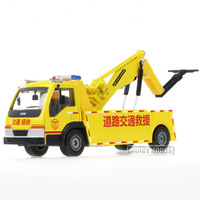 Free shipping 1:50 alloy construction vehicles model road rescue vehicle rescue rescue simulation Wrecker