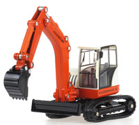 Free shipping alloy model car 1:50 alloy excavator model toy