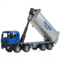 Free shipping actory simulation alloy model 1:50 alloy construction vehicles dump truck dump truck toy