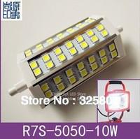 New arrival SMD5050 Bright led r7s 78mm 118mm 189mm 5w 10w 15w  spotlights flood light flodlit sign lights Advertising lamp