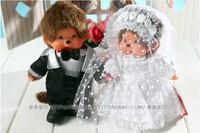 WJ119-2 Fashion Lovely Plush Stuffed Monster Doll Monkey Toy Monchhichi Wedding Apparel Style 20 CM Supernova Sale Friend Gift