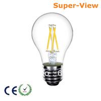50pcs/Lot 4W 110Lm/W 360 Degree E27/E26 LED Filament Bulb Light Lamp