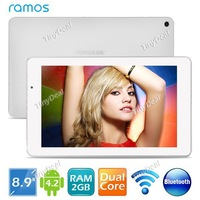 "RAMOS i9 8.9"" IPS Android 4.2.2 16GB Intel Atom Quad core Tablet PC w/ WiFi Bluetooth Miracast CPU 2GHz RAM 2GB"