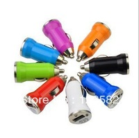 Free shipping mini car charger usb car charger car charger Bullet Symphony