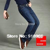 New promotion winter Men's pants jeans/fashion thick Denim warm pants/Big size M~XXXL 4XL 5XL good quality free shipping/MOl
