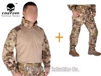 Emerson Tactical G3 Combat uniform Emerson shirt and pants Military US Army BDU set Kryptek Highlander