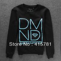 2013 Autumn New Diamond sweatershirt/men's clothing/long-sleeve/o-neck/sweatshirt/hiphop sweatshirt/pullover hoodies for man