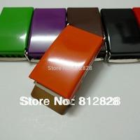 "10pcs 1"" 25mm Orange Enamel Painted Belt Buckles FREE SHIPPING"