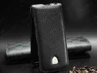 Top quality Genuine Leather case cover for iPhone 5 5S , 100% cow leather material ,wholesale, Free Shipping