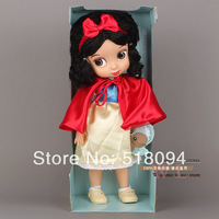 "Animators Collection Pretty Girls' Doll  16""40CM Princess Snow White PVC Action FigureToys For Christmas Gifts Free Shipping"