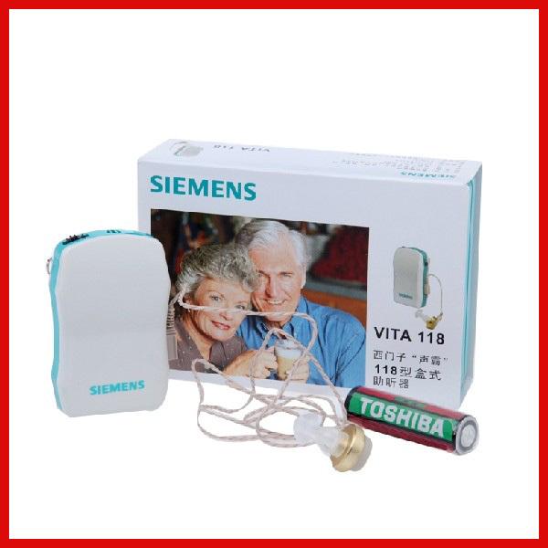 Hot Sale Siemens Hearing Aid With Free Shipping VITA118(China (Mainland))
