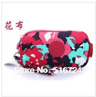 Free shipping nylon pull three hand bag phone bag cosmetic bag lady purse camera bag
