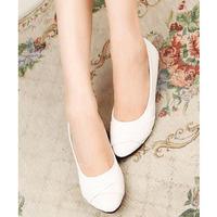 About 1 size smaller Euro size35-41 women shoes ladies single shoes  women's flats  dijincailian 3 colors qqtongjinhua