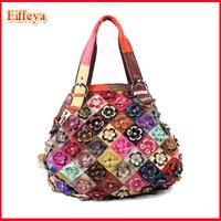 PH66 Hot Sale New 2014 Fashion Designer Brand Handbags Luxury Leather Shoulder Bag Women Messenger Bags Flower Totes