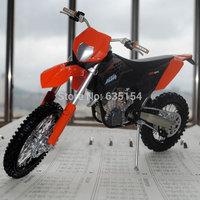Brand New 1/12 Scale Diecast Metal Motorcycle Models KTM 450 EXC 09 Cross Country Motorbike Metal Motorcycle Model Toy
