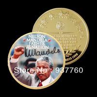 South Africa President Nelson Mandela Souvenir Coins