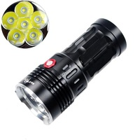 SKY RAY KING  6T6 6xCree XM-L T6 8000 Lumens 4-Mode LED Flashlight