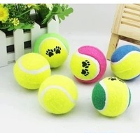 free shipping Pet toy dog toys tennis ball 6.5cm diameter