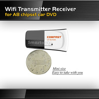 Free shipping COMFAST Wifi Transmitter Receiver Dongle Mini 150M USB Wireless Network Card for A8 chipset Car DVD GPS Player