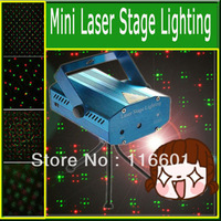 Mini Red Green Moving Party Stage Laser Light with Tripod DJ Party Disco KTV Projector Light 150mW 110-240V Free Shipping