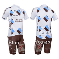 2013  Cycling Bike Short Sleeve Clothing Bicycle Sportwear Suit Jacket + Shorts S-3XL New Arrival Team-4