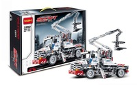Decool Building Blocks Bucket Truck Car Engineering Sets Educational  Bricks Hot Toy for Children Model Building Gift