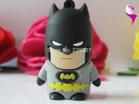 cartoon Batman model USB 2.0 Enough Memory Stick Flash pen Drive 1-32GB