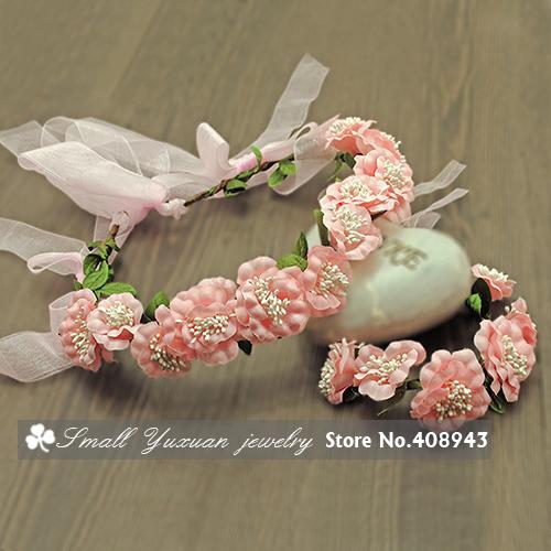 искусственные цветы венок наборы/гирлянда Свадьба Невеста