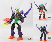 Decool robot Super hero factory PVC 20CM Clown building block Children's classic  toys  gift with original box drop shipping